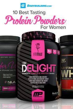 Looking for the best-tasting protein powders to squash your sweet cravings and build your lean, sexy physique? This article has our top 10!