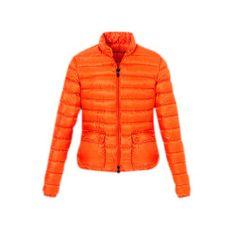 Moncler Fashion Orange Jacket Women Outlet