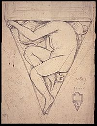 Study for Sculpture by Eric Gill
