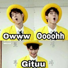 Super Memes Indonesia Wanna One Ideas Memes Funny Faces, Funny Kpop Memes, Exo Memes, Funny Photos, Funny Images, Super Memes, K Meme, Drama Memes, Meme Stickers