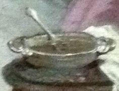 Jean-Baptiste Pater (1695-1736) (?), L'étreinte, huile sur toile, ca 1730, Marseille : musée Grobet-Labadié - l'artiste a supprimé les sexes trop apparents, mais... les a évoqués dans la tradition galante par une cuiller trempant dans un bol, sur la table de nuit...