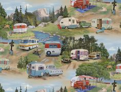 camping fabric | Camping Fabric - Good Old RVs