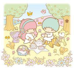 クローバーを探しに♪ の画像 LittleTwinStars Official★Blog Kiki&Lala Dreamy Diary