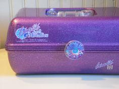 vintage CABOODLES case by OldSteamerTrunkJunk on Etsy, $45.00