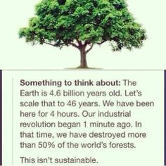 Yes, if our taking something is more than what nature can regrow, that is not sustainability. Human greed is of no boundaries. When they are sufficiently rich, it's never enough for them. This is how soil is also depleted of nutrients it needs.  https://www.facebook.com/photo.php?fbid=632973116758189&set=a.105617929493713.15177.105616722827167&type=1