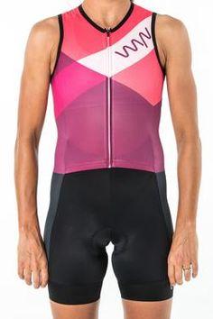 6eb33dd2f58 women's aero sleeved triathlon suit peach | Women's Triathlon | Triathlon,  Cycling outfit, Women