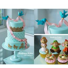 Cinderella cake and cupcakes that are amazing!!!!!!!!!