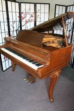 Art Case Knabe Grand Piano 5'1'' Refurbished/French Polished.