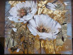 Abstract Canvas, Canvas Art, Acrilic Paintings, Acrylic Painting Flowers, Texture Art, Beautiful Paintings, Flower Art, Watercolor Art, Modern Art
