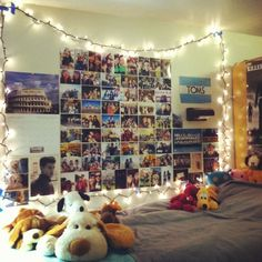 I kinda really want Christmas Lights in my dorm. I have them in my room and there's just something comforting about them. (Roommate allowing, of course :D)
