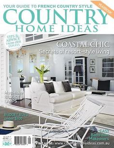 Merveilleux Vol 14: No 5 | Country Home Ideas | The Country Lifestyle Magazine |  Coastal Style Living Is Easy | Toast Of The Coast | Pinterest | Country  Lifestyle, ...