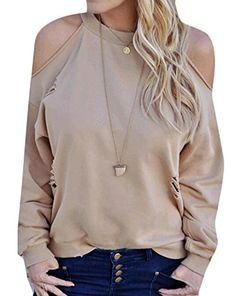 YUNY Women Contrast Long-Sleeve Casual Crop Stand-up Collar Pullover White S