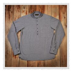 Pike Brothers 1923 Buccaneer Shirt grey striped