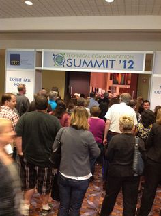 Welcome Reception and Expo Open. By Linda_Groups, via Flickr.