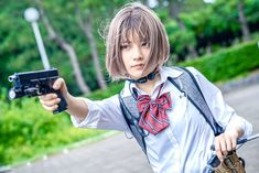 Tactical Gear, Japanese Girl, Airsoft, Asian Fashion, Girl Boss, Daniel Wellington, Weapons, Concept Art, Guns