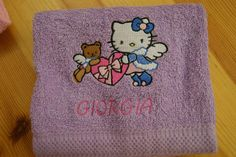 Hello Kitty Sno Angel embroidery design
