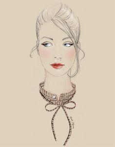 Cécile Mancion Fashion Illustrations