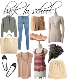 Back-to-School Essentials!  Pretty obsessed with the Lauren Conrad Collection at the moment....