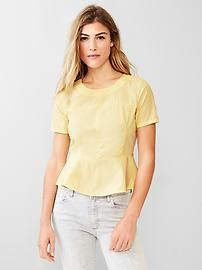 Peplum top Make sure to use Gap Discount and Voucher Codes to get significant discounts on your purchase.