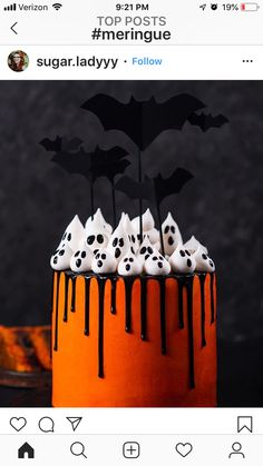 Isnt this the cuuuutest halloween cake? Love it Kay Little. Isnt this the cuuuutest halloween cake? Love it Kay Little. The post Isnt this the cuuuutest halloween cake? Love it Kay Little. appeared first on Halloween Cake. Halloween Desserts, Halloween Torte, Bolo Halloween, Pasteles Halloween, Recetas Halloween, Halloween Donuts, Hallowen Food, Halloween Food For Party, Halloween Parties