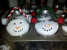 Frosty Snowman crafty ornaments