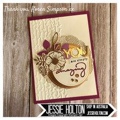 Beautiful cards I've been spoiled with from the Random Act of Kindness Facebook Group (join via my blog) this past month! #JessieHolton #StampinUp #RAK #imbringingRAKcardsback #makeacardsendacard