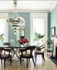 House Beautiful - lovely dining room