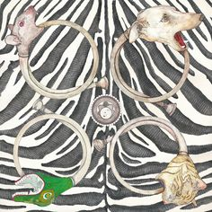 Spring Summer 2011 – EQUATORIAL SYMPHONY   Zebra Silk Crepe De Chine   210x90 cm #Luxury  #Lifestyle #Silk #Scarves