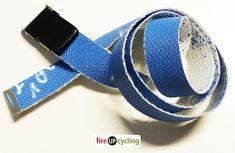 Gürtel aus Feuerwehrschlauch blau   UPCYCLING & DIY Accessories, Fashion, Products, Repurpose, Blue, Moda, Fashion Styles, Fashion Illustrations, Jewelry Accessories