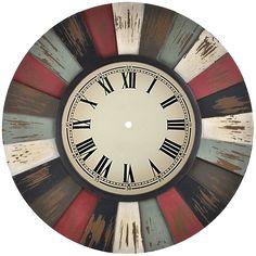 Diy Crafts Slime, Slime Craft, Diy Clock, Clock Decor, Clock Printable, Shabby Chic Clock, Handmade Clocks, Paisley Art, Clock Faces