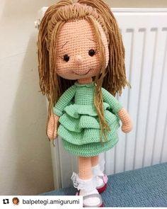 Tarif : @balpetegi.amigurumi . . . . #amigurumi #amigurumitoy #amigurumiaddict #amigurumitarif #amigurumitarifleri #amigurumilove #amigurumidoll #amigurumi #marulkız #amigurumipattern #freepattern #amigurumibebek #amigurumioyuncak Amigurumi Toys, Amigurumi Patterns, Crochet Patterns, Crochet Dolls, Knit Crochet, Crochet Hats, New Dolls, Kids And Parenting, Free Pattern