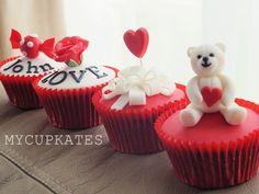 MyCupKates - Cakes, Cupcakes & Cookies: Valentines Day Cupcake