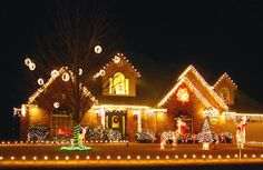 Amazing Christmas Lights House Ideas: Extraordinary Christmas Lights House Design Ideas ~ articature.com Decorating Inspiration