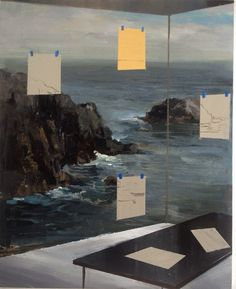 "Jeremy Miranda | Residency | 11 1/4"" x 14"" Acrylic on primed birch panel"