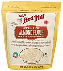 Keto Foods include Almond Flour for preparing Keto Recipes. Bob's Red Mill Almond Flour is a lbs. Gourmet Recipes, Low Carb Recipes, Free Recipes, Low Carb Flour, Bobs Red Mill, Blanched Almonds, Low Carbohydrate Diet, Low Cholesterol, Keto Fat