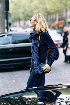Paris Fashion Week SS 2016....Elizabeth