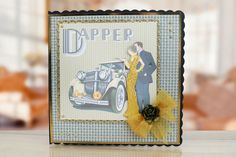 Art Deco Collection by Tattered Lace. For more information visit: www.tatteredlace.co.uk