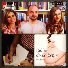 """Presentación del libro """"Diario de un bebé"""" de Rocío Bracero en El dragón lector en Madrid"""