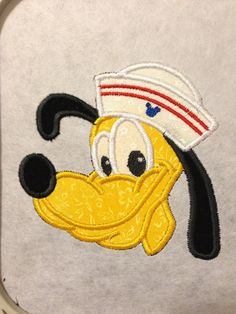Made to Order Sailor Dog applique patch by Magicalsewingstudio, $7.50