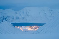 Svalbard, Norway. (If you are wishing to be an Home Alone Life, then this Island/Village is a top of the list choice! Very near the North Pole!