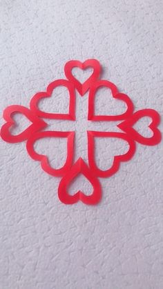 10 Simple and Easy Paper Cutting Crafts - Origami Paper Flowers Craft, Paper Crafts Origami, Flower Crafts, Paper Crafting, Diy Crafts For Gifts, Creative Crafts, Crafts For Kids, Origami Rose, Origami Heart