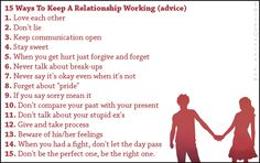 dating advice relationships ways stay friends with your