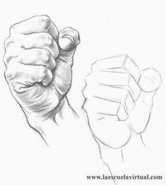 Tutorial dibujando manos posiciones, anatomia, forma, tutorial gratis curso online how to draw hands drawing draw dibujo lapiz dedos to drawing anatomy Anatomy Sketches, Anatomy Drawing, Anatomy Art, Pencil Art Drawings, Art Drawings Sketches, Hand Drawings, Art Illustrations, Hand Drawing Reference, Art Reference