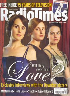 downton abbey radio times will they find love
