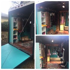 Convert a 10x6 enclosed trailer into a Mobile LuLaRoom. Located in Westhampton Beach #lularoe #lularoefabsisters #lularoe #lularoom #westhamptonbeach