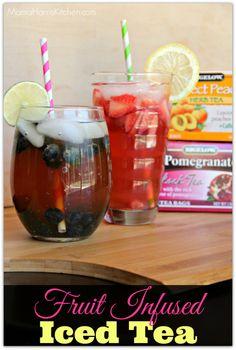 Fruit Infused Iced Tea #AmericasTea #shop