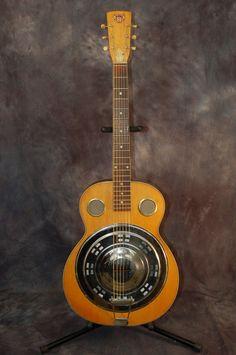 Acoustic Electric Guitar – 1965 Dobro Model C Round Neck Resonator Slide Guitar..SOLD!!!!