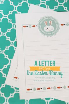 Oh my gosh the easter bunny me pinterest photos a letter from the easter bunny so cute spiritdancerdesigns Image collections