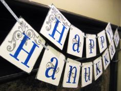Use these colorful Happy Hanukkah Banner Sign Garland decorating ideas when decorating your home and create a memorable and significant gathering of friends and family. Hanukkah Decorations, Gold Christmas Decorations, Holiday Decor, Holiday Ideas, Holiday Parties, Hannukah, Happy Hanukkah, Hanukkah Crafts, Jewish Celebrations