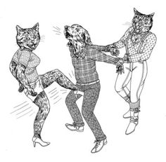 This is what I think the cats would do if I left them alone with Remy for too long. Lisa Hanawalt- My new favorite funny artist.